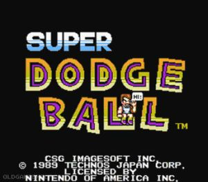 Thumbnail image of game Super Dodge Ball