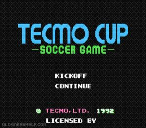 Thumbnail image of game Tecmo Cup - Soccer Game