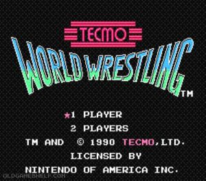 Thumbnail image of game Tecmo World Wrestling