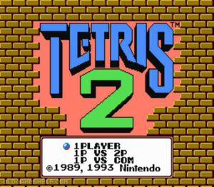 Thumbnail image of game Tetris 2