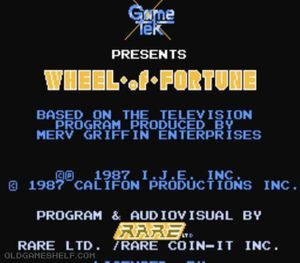 Thumbnail image of game Wheel of Fortune