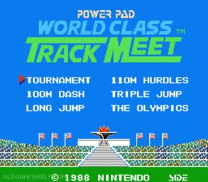Thumbnail image of game World Class Track Meet