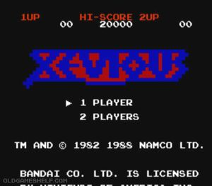 Thumbnail image of game Xevious