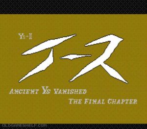 Thumbnail image of game Ys II - Ancient Ys Vanished - The Final Chapter