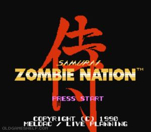 Thumbnail image of game Zombie Nation